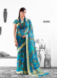 Blue Designer Party Wear Sarees