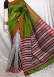 Green K.K Handloom Cotton Silk Sarees