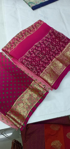 Pink Designer Party Wear Sarees