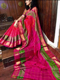 Purple Red Uppada Silk Sarees