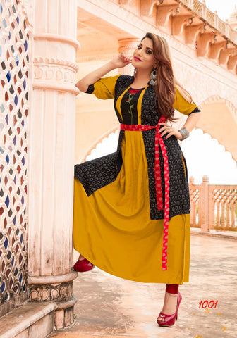 Black Blue UnStitched Cotton Chanderi Cotton Naznin Salwar