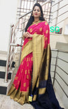 Purple Banarasi Silk Sarees