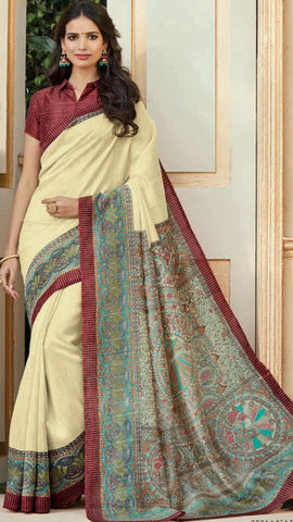 30e42749df Bhagalpuri Silk Sarees Online at Discount Prices Directly from ...