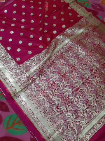 Purple Koriyal Banarasi Silk Sarees