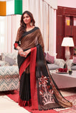 Black Cotton Silk Sarees