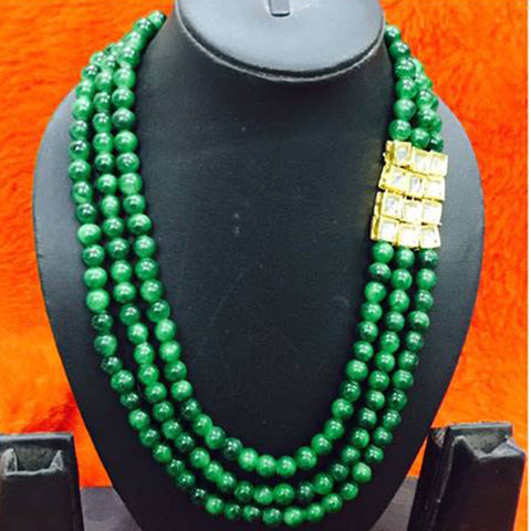 Light Green Beads Mala