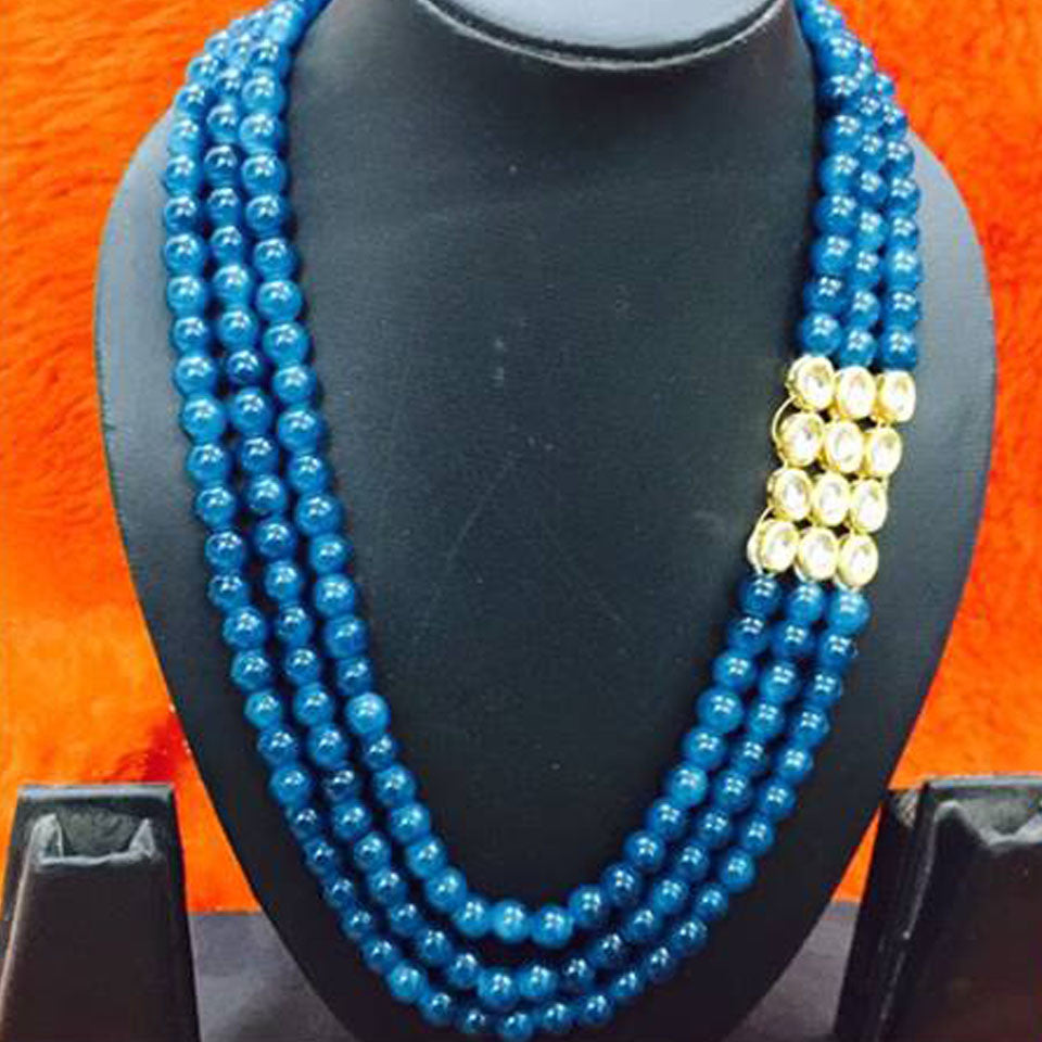 Light Blue Beads Mala