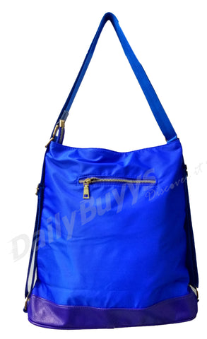 Gorgeous Blue Zip Totes