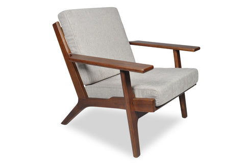 Olson Lounge Chair (Light Grey)