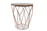Hella Pink Gold End Table
