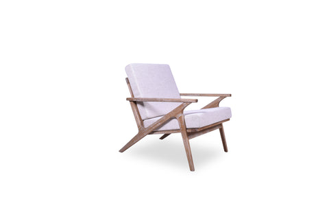 Hendrix Lounge Chair (Beige)