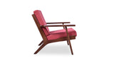 Marley Lounge Chair (Red Orange)