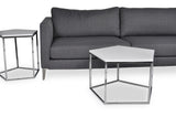 Penta Coffee Table (Chrome)