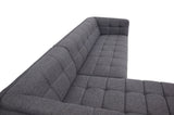 Kano Sectional Sofa (Seaside Grey - Left Facing Chaise) - TB3 Home