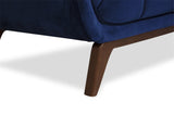 "Kano Velvet Sofa (Large 86""- Navy Blue) - TB3 Home"