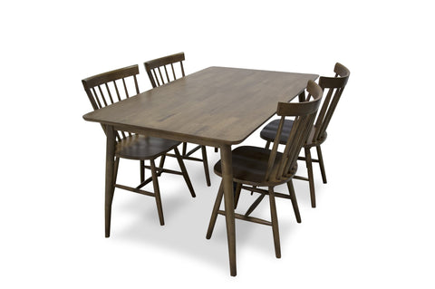 Ella Modern Solid Wood Dining Set - TB3 Home