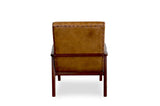 Jakarta Leather Lounge Chair - TB3 Home