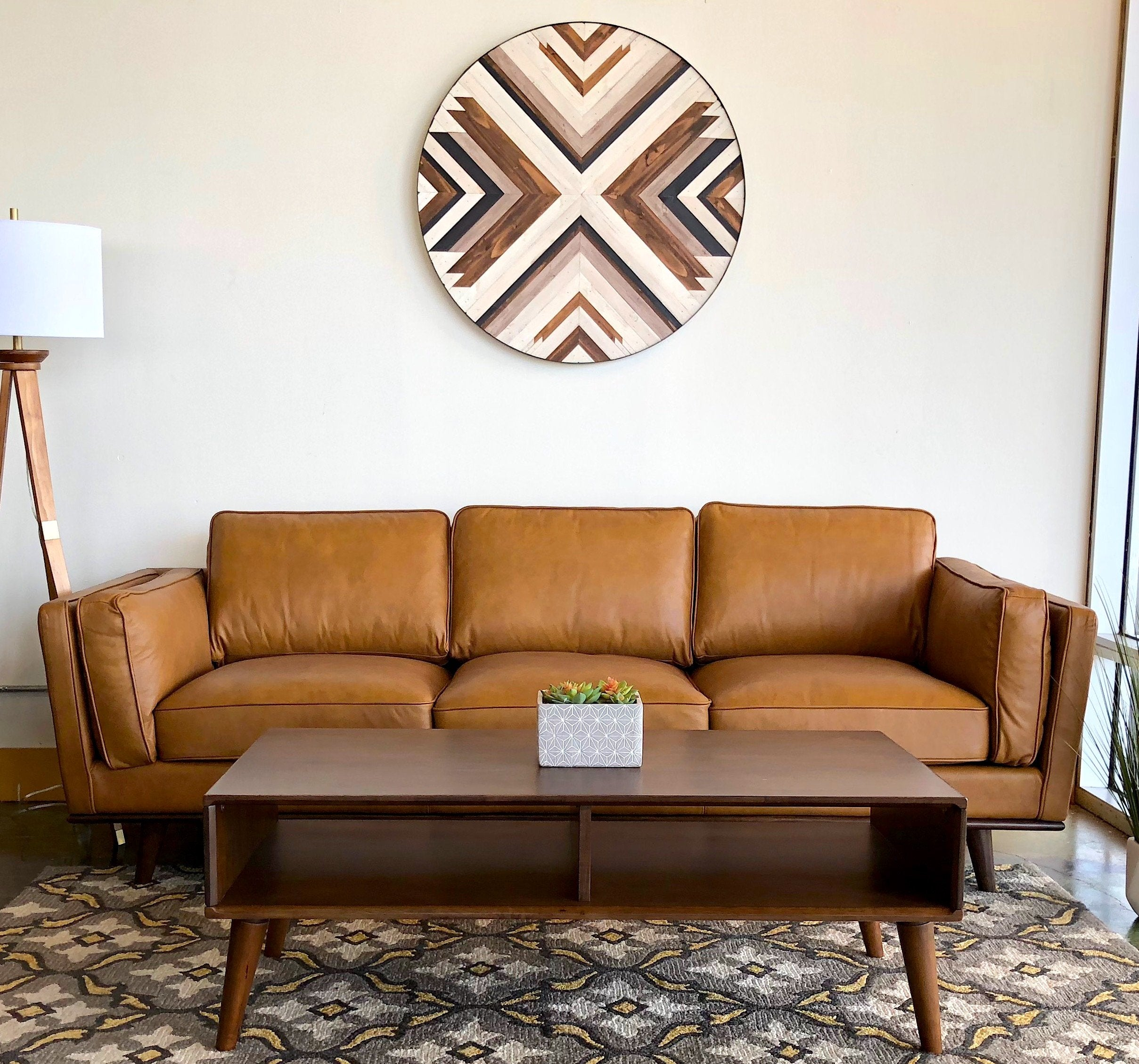 Ferre Leather Sofa + Modern Sofas +Houston Furniture Shop=MidInMod ...