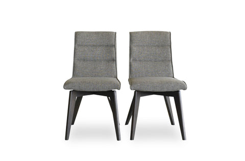 Aspen Dining Chairs (Grey - Set of 2) - TB3 Home