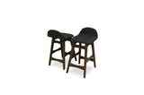 "Sede Bar Stool 29"" (Dark Grey - Set of 2) - TB3 Home"