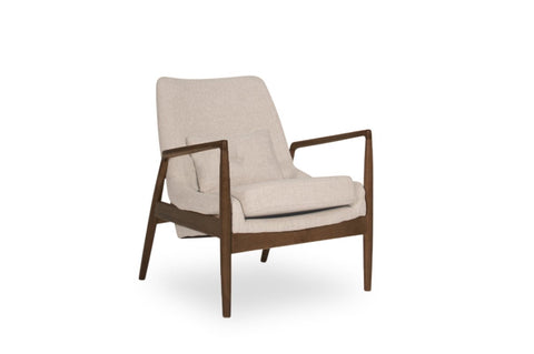 Atticus Lounge Chair (Beige) - TB3 Home