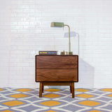 Monica Night Stand (Walnut) - TB3 Home