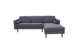 Kirby Sectional Sofa (Seaside Grey - Right Facing Chaise) - TB3 Home