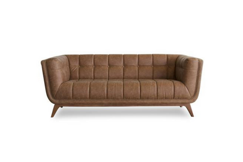 "Kano Vintage Leather Sofa (Large 86"") - TB3 Home"