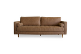 Daphne Vintage Leather Sofa - TB3 Home