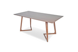 "Triniti Walnut Dining Table 63"" - TB3 Home"