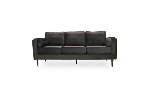 Fordham Velvet Sofa (Grey) - TB3 Home