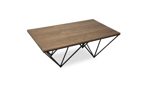 Kennet Coffee Table (Black Base) - TB3 Home