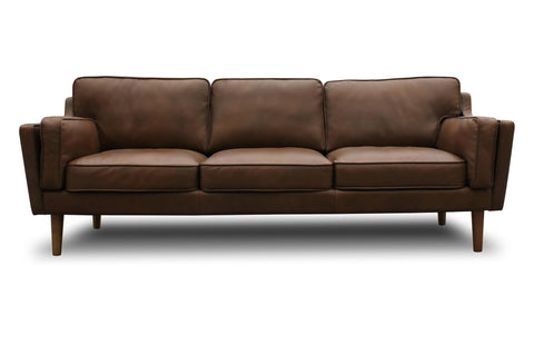 Bolton Leather Sofa - TB3 Home