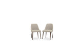 Elm Dining Chairs (Cream - Set of 2) - TB3 Home