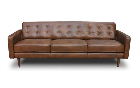 Broxton Leather Sofa - TB3 Home