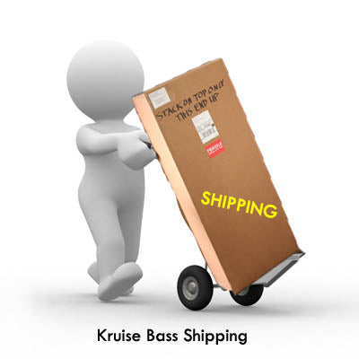 Ship bass home from Kruise. Select country. See Shipping price. (READ DETAILS BELOW)