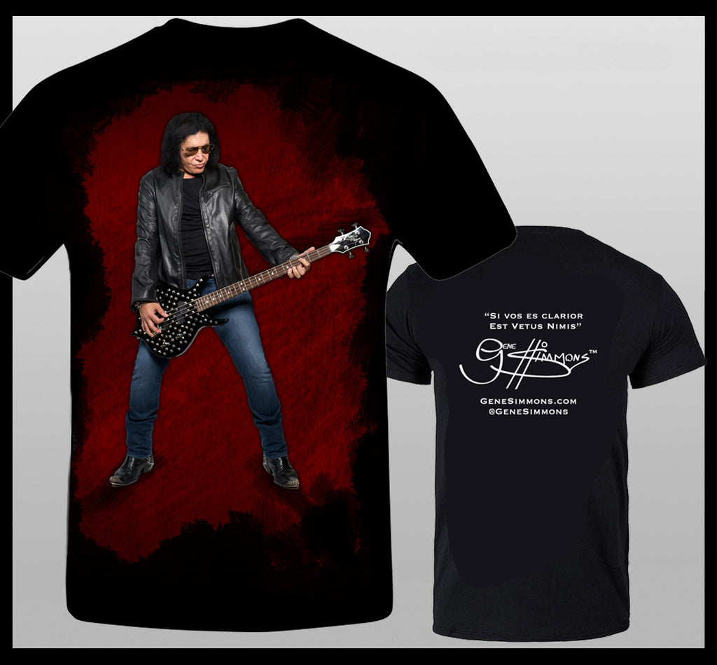 Gene Simmons Punisher Bass T-Shirt
