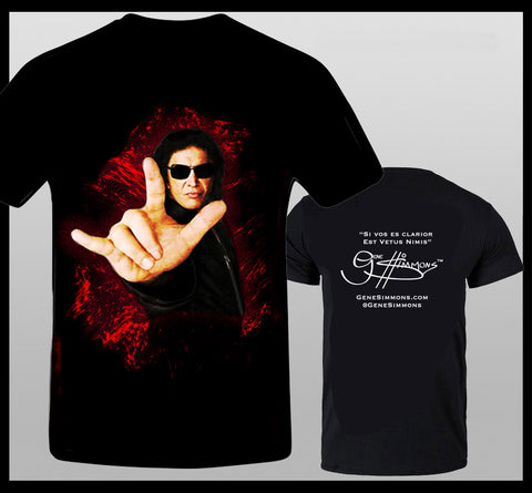 Gene Simmons Rock Hands T-Shirt