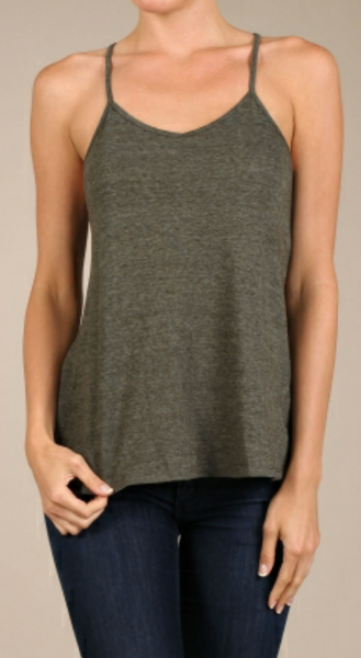 """Olive be Back"" Top"