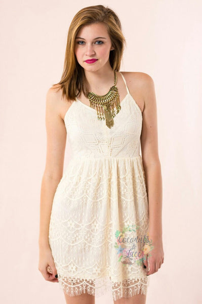 """Allie"" Lace dress"