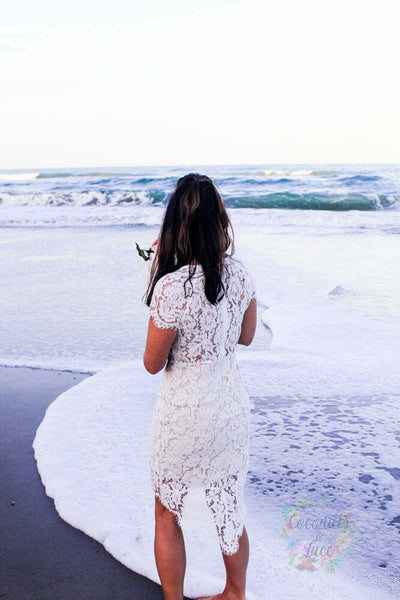 """In Love with You"" Lace Dress"