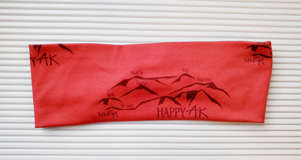 HikER Headband - Headband Happy AK
