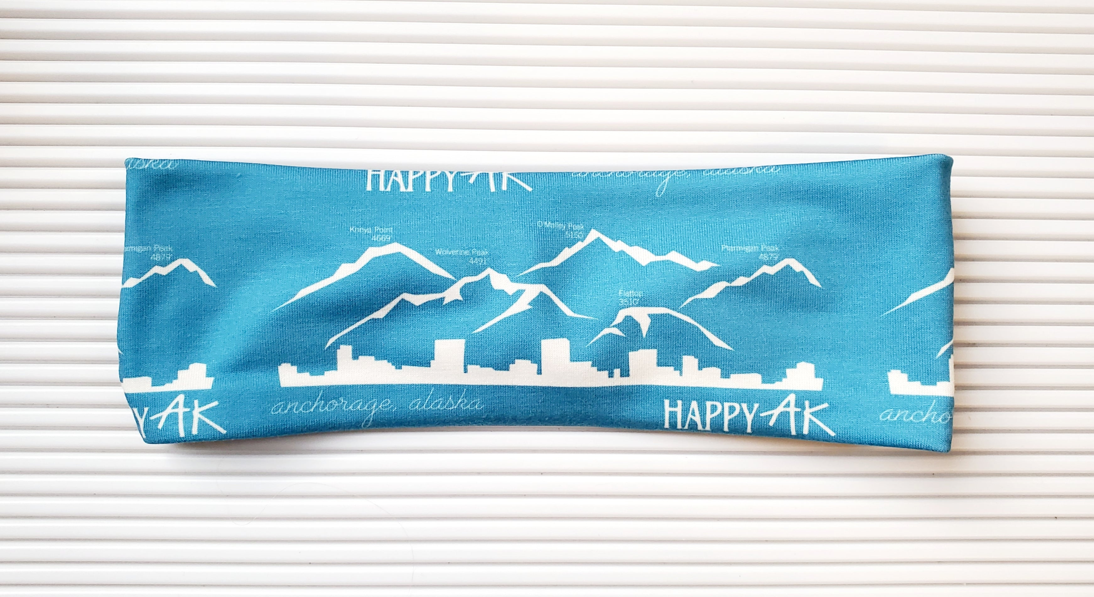 Anchorage Mountain Headband - Headband Happy AK