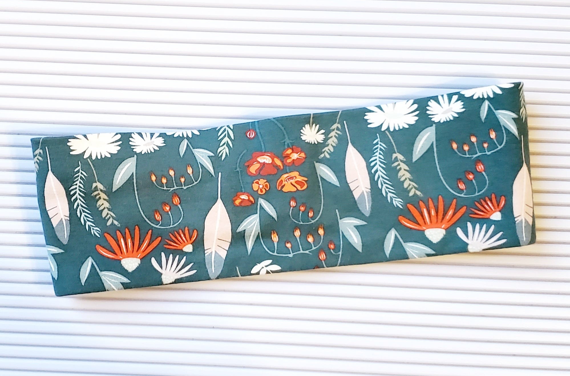 Sage and Rust Floral - Headband Happy AK