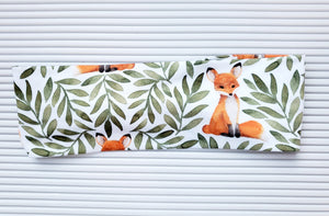 Red Fox in Leaves - Headband Happy AK