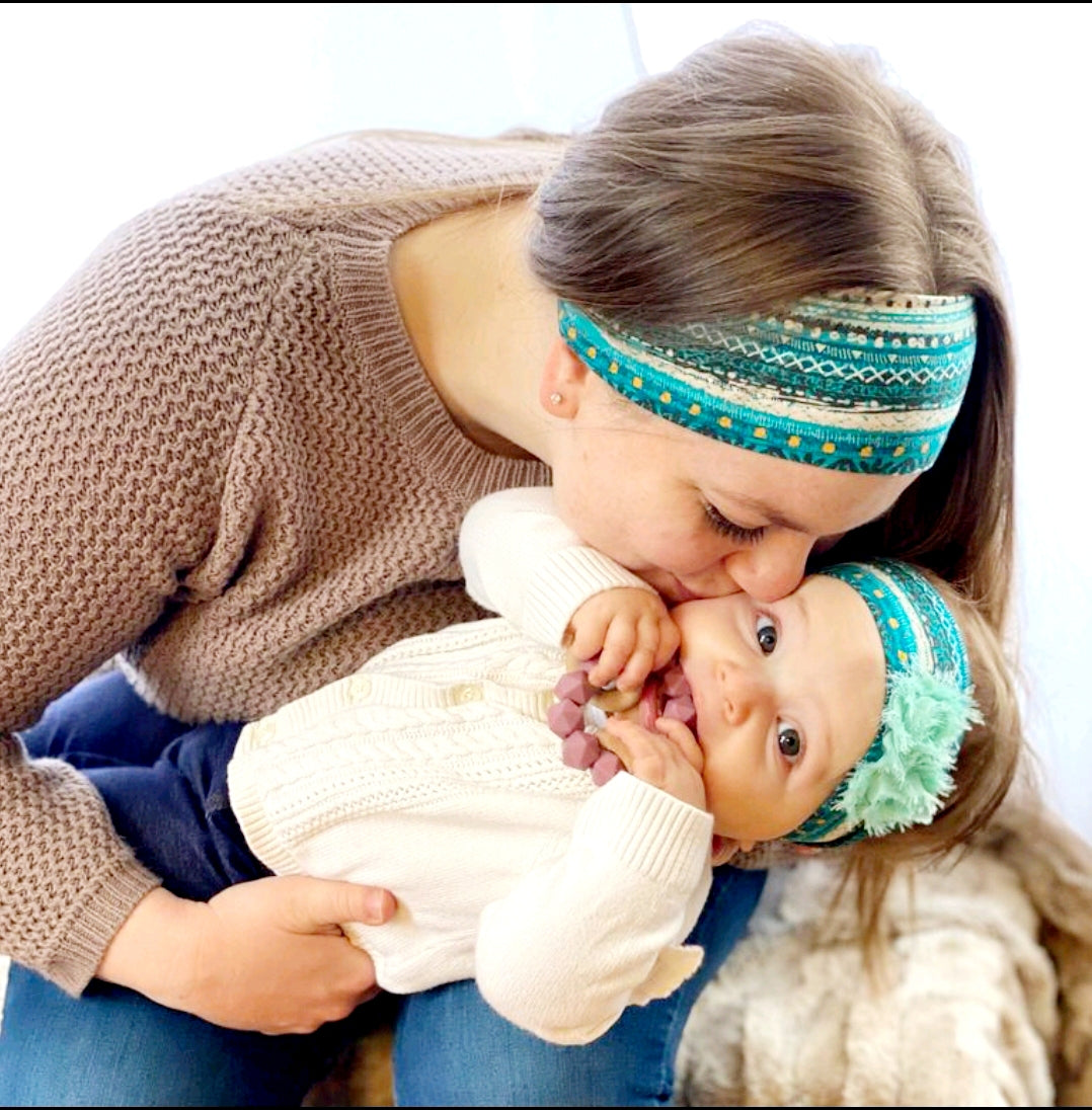 Infant Headbands with Bows - Headband Happy AK