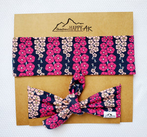 Mommy & Me Tie Set - Headband Happy AK