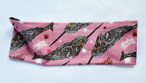 Alaska Unicorn/ Narwhal - Headband Happy AK