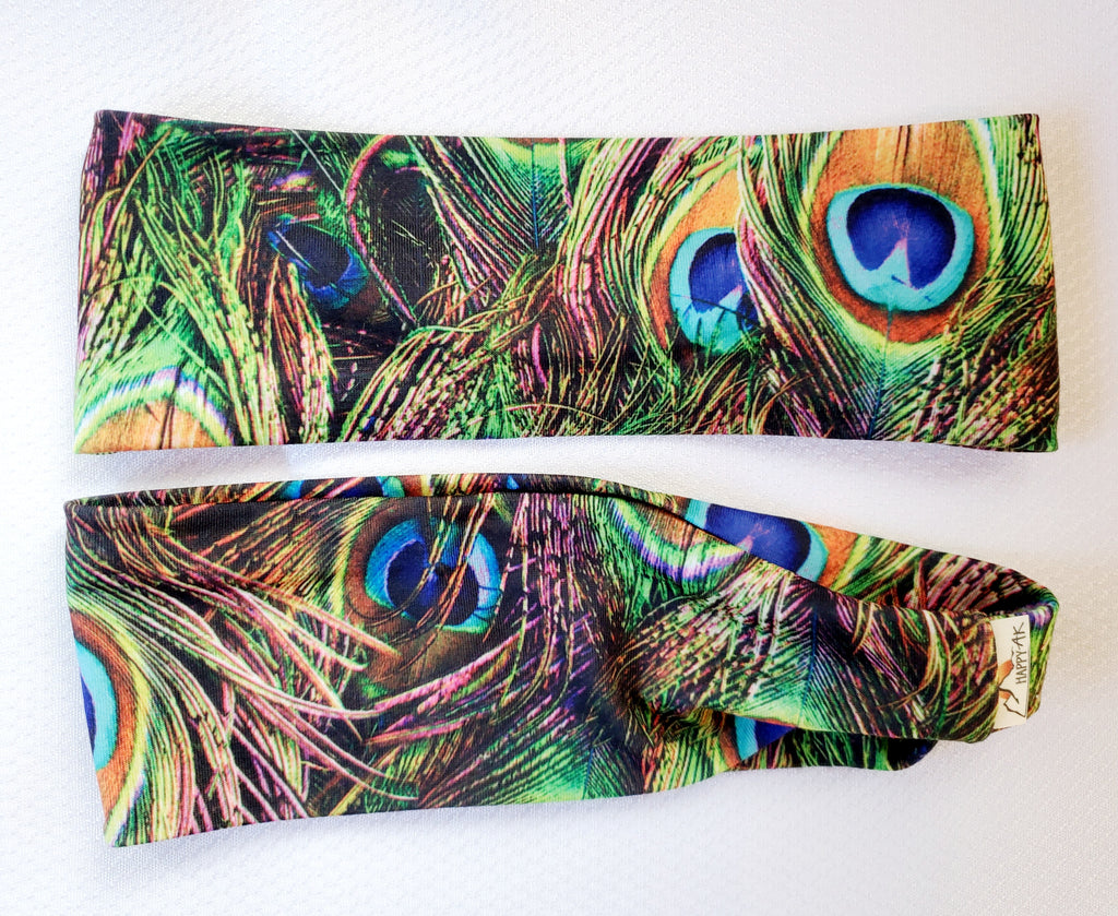 Peacock Feathers - Headband Happy AK
