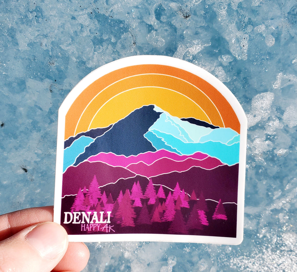 Denali sticker - Headband Happy AK
